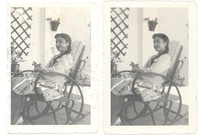 Restauración de fotos/Picture restoration