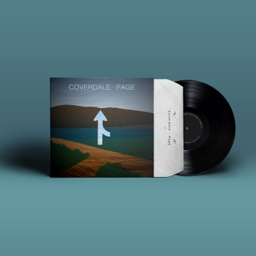 Vinyl Coverdale&Page Redesign.