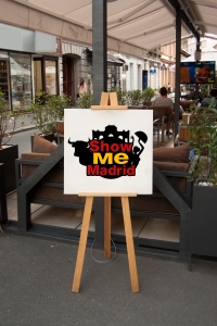 Ornate Logo of Show Me Madrid